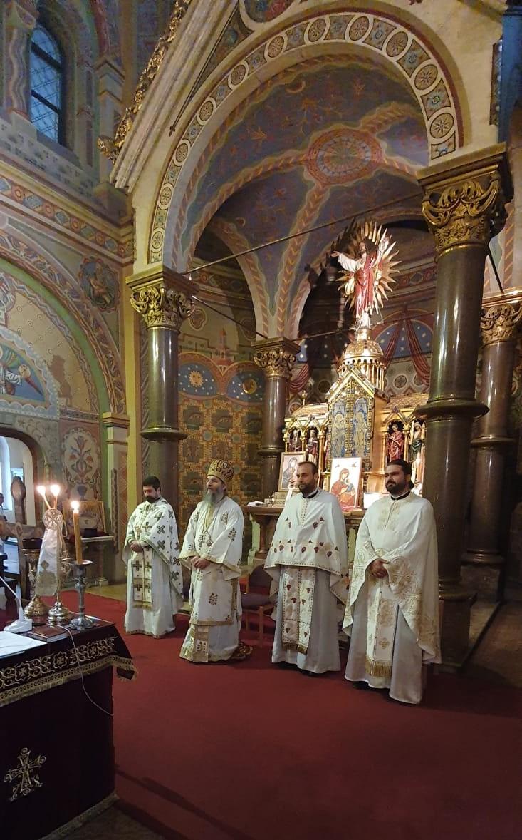 Епископ Андреј у Инсбруку