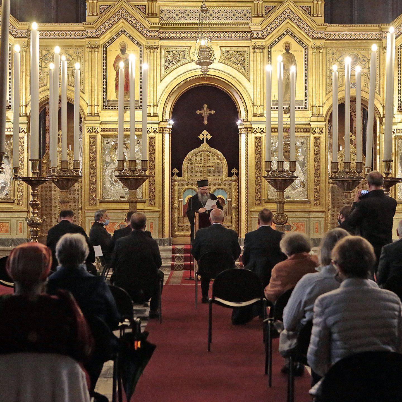 Епископ Андреј на церемонији заштите природе у Трсту