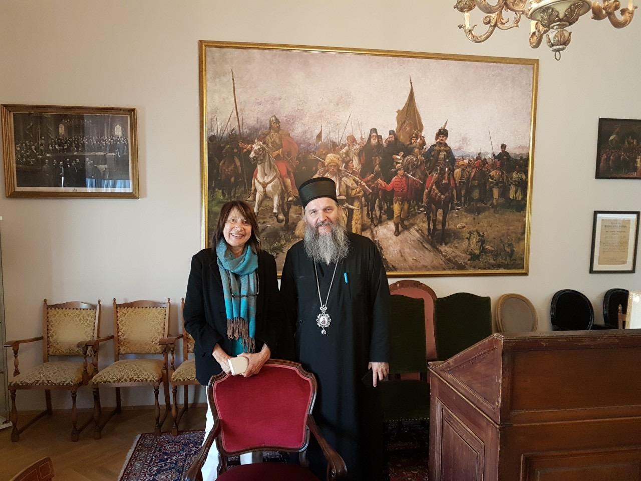 Епископ Андреј примио госпођу Рејх