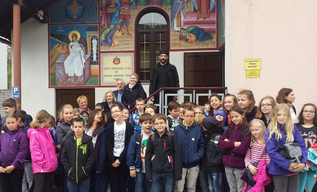 Посета Цркви у Енсу