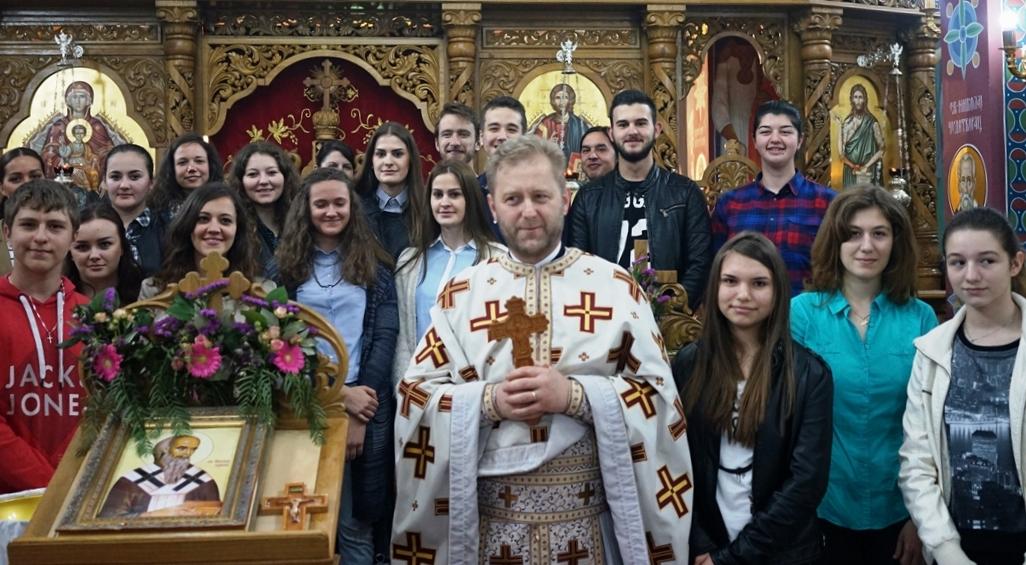 Свети Николај Жички – Слава омладине у Берну