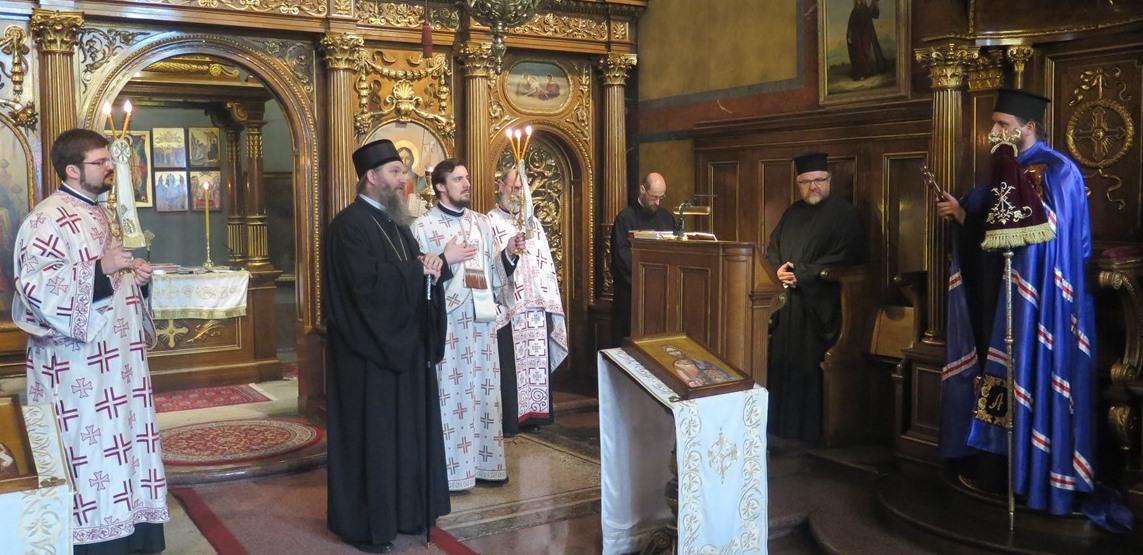 Епископ Сергије посетио Епархију аустријско-швајцарску
