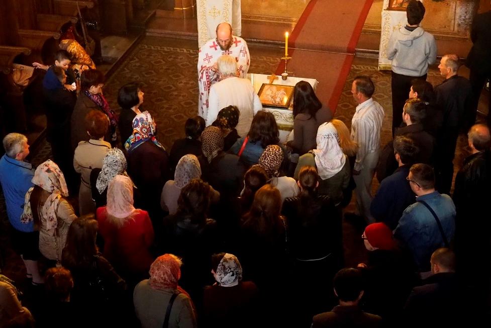 Спомен Светог Василија у Саборној цркви