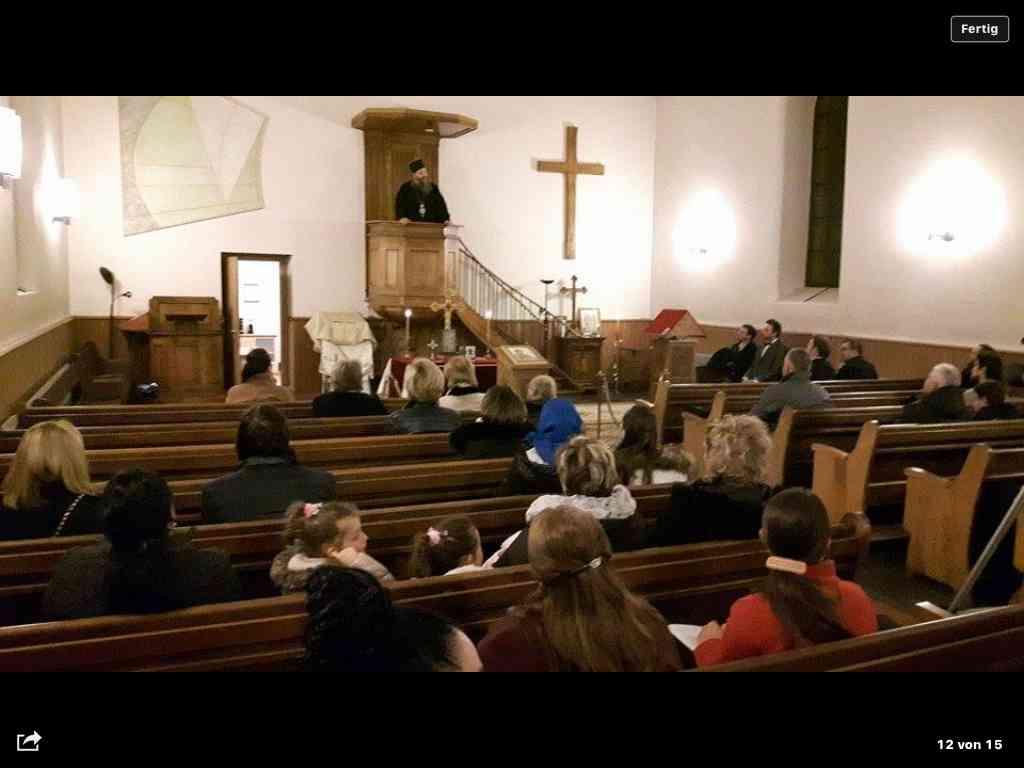 Посета Епископа Андреја новооснованој парохији у Женеви