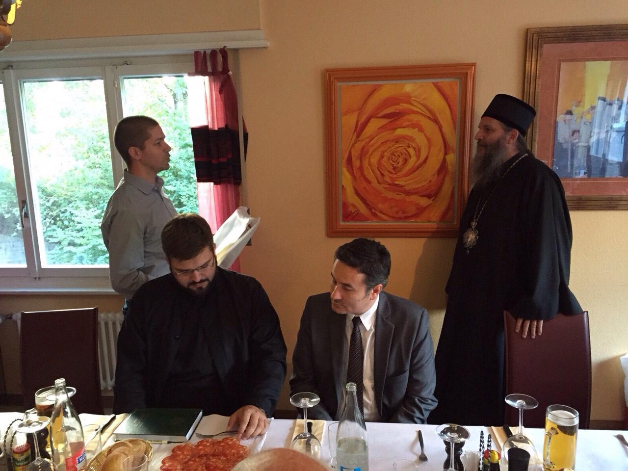 Седница Црквеног одбора у Лозани