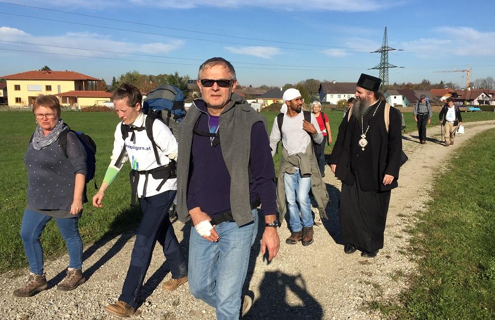 Епископ Андреј учествовао на ходочашћу солидарности кроз Аустрију