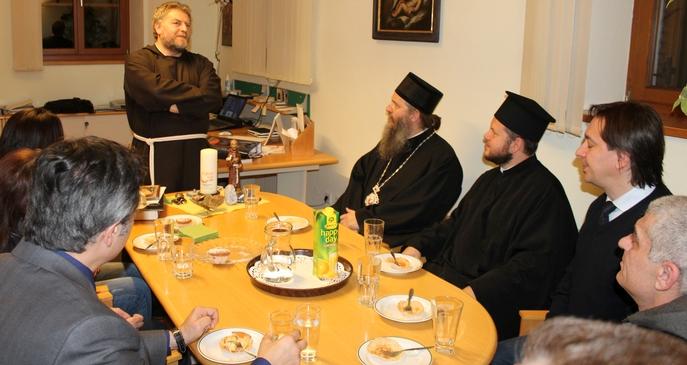 Епископ Андреј посетио фрањевачки манастир у Инсбруку