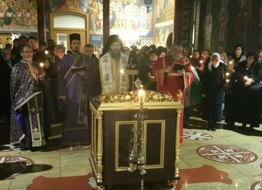 Парастос оцу Драги Говедарици