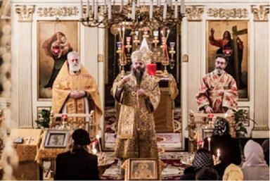 Света Архијерејска литургија и Светосавска прослава у Риму