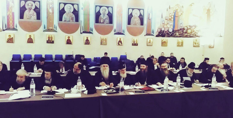 Епископ Андреј на Сабрању поглавара помесних Православних Цркава у Шамбезију