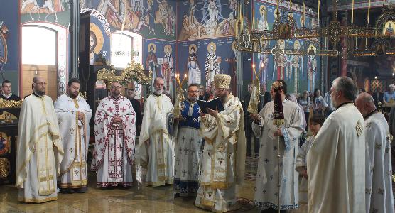 Понедељак Светог Духа у храму Васкрсења Христовог