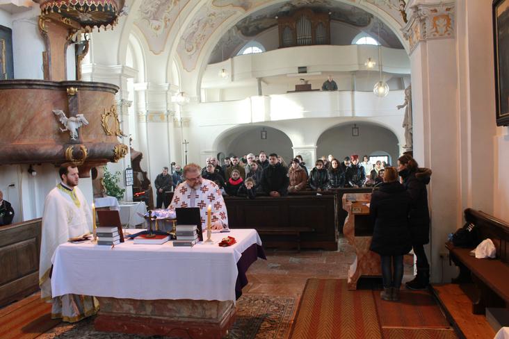 Оснивање нове Црквене општине и парохије у граду Браунау