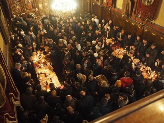 Спомен светитеља Николаја у Саборној цркви