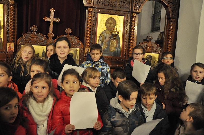 Торжествено прослављен Бадњидан и Божић у парохијском храму у Фелдкирху и на Леху