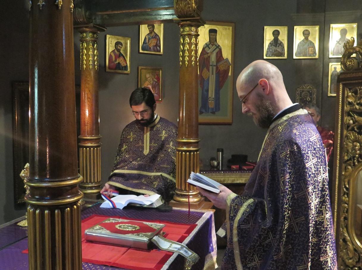 Литургија пређеосвећених дарова у Саборној Цркви