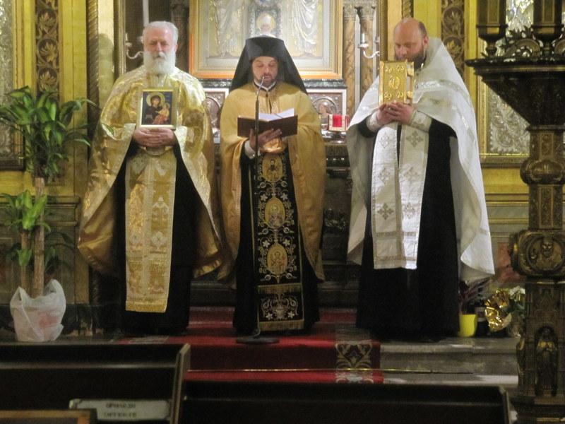 Свеправославно вечерње у Трсту