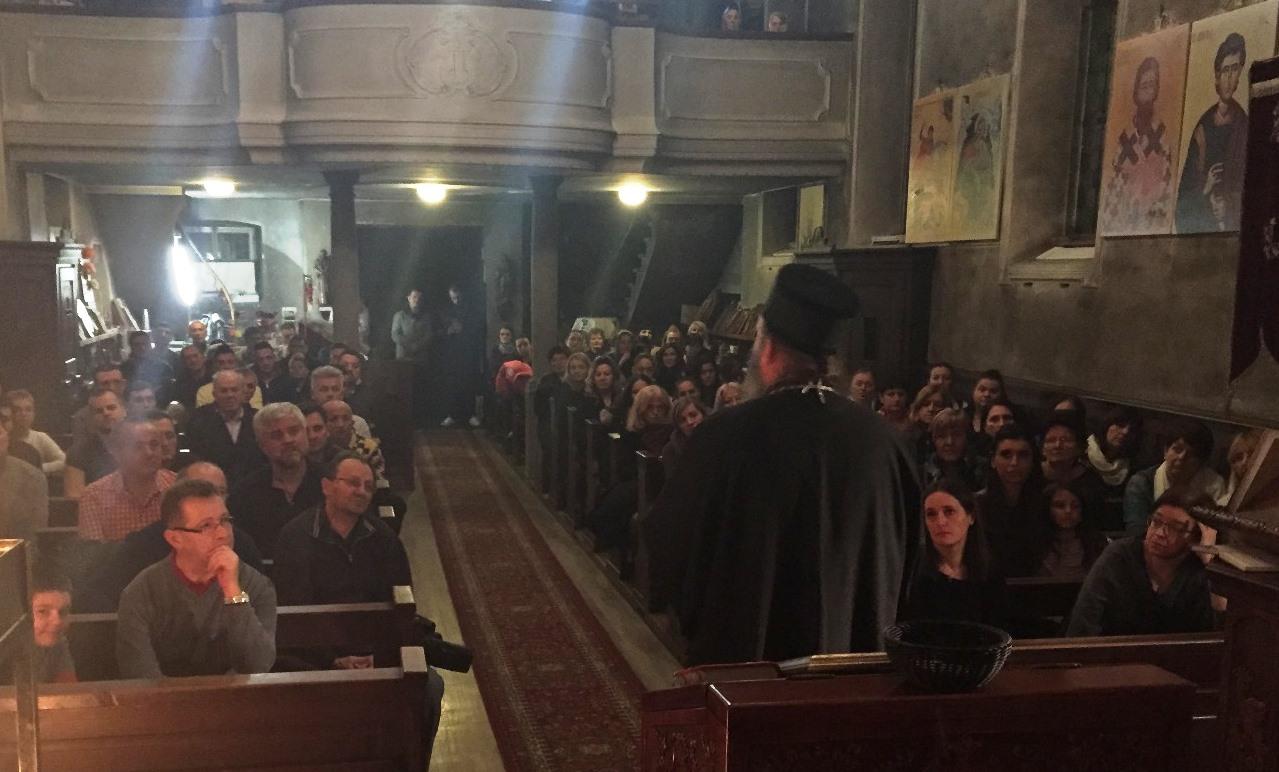 Канонска посета Епископа Андреја Луцерну