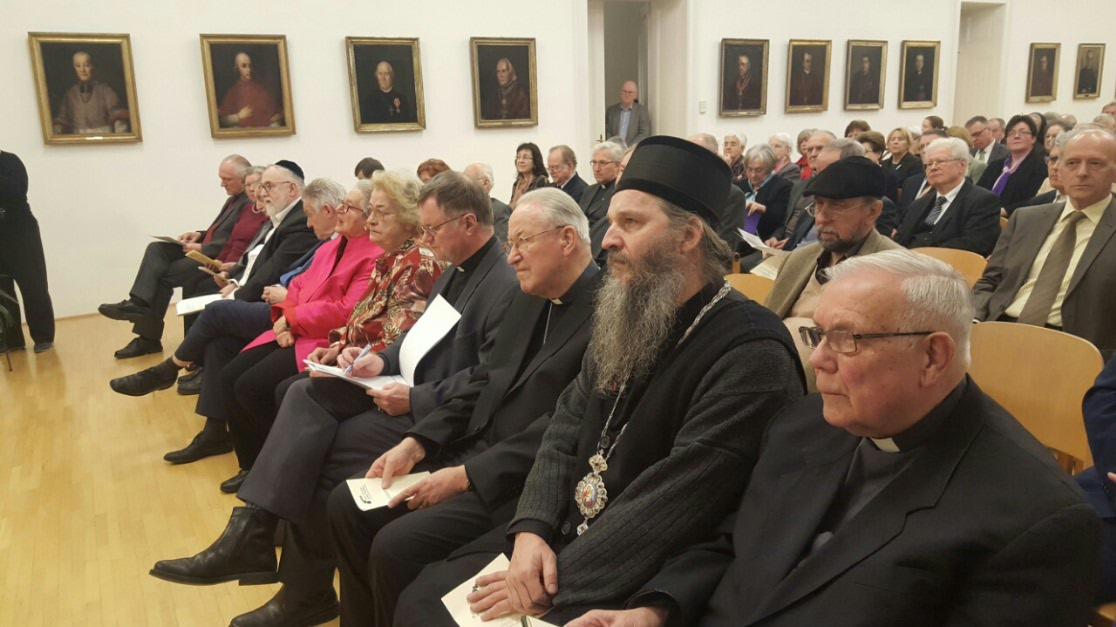 """Епископ Андреј на додели награде """"Курт Шуберт"""" у Линцу"""