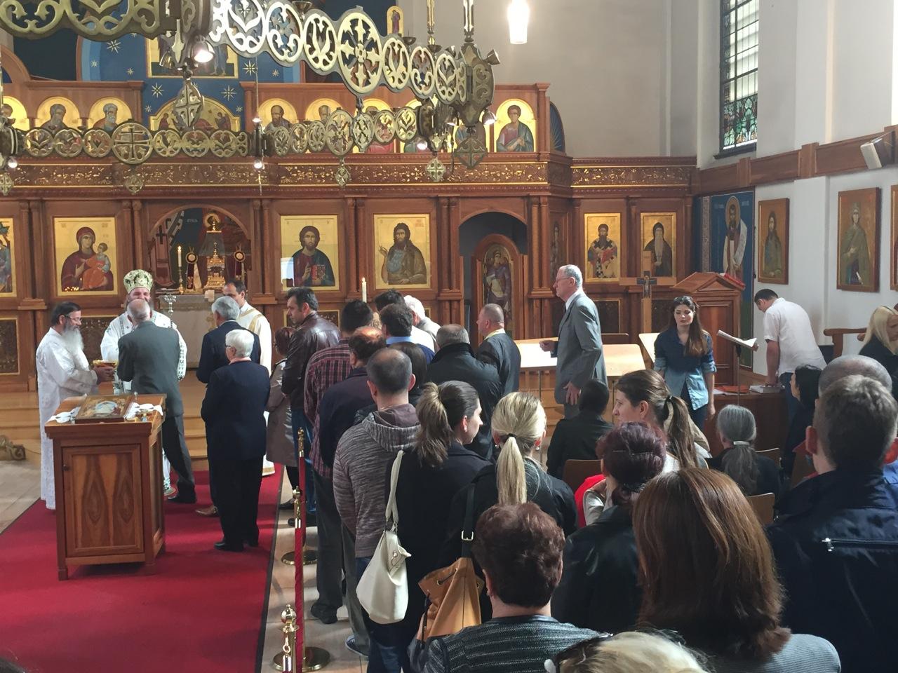 Архијерејска посета Црквеној општини у Цириху