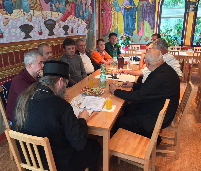 Владика Андреј учествовао у важним састанцима у Салцбургу