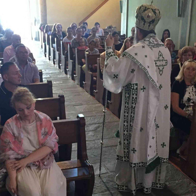 Света архијерејска литургија у Сиеру и Цириху