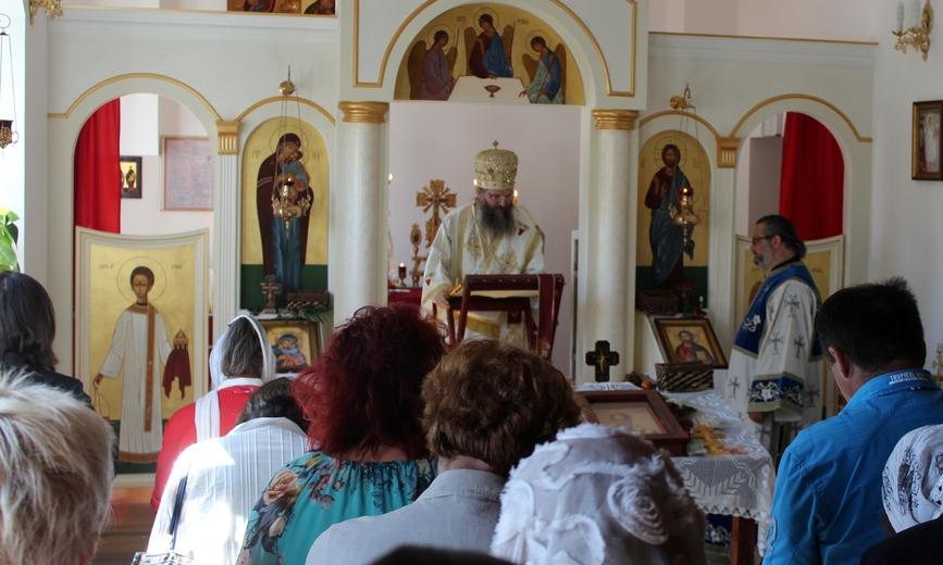 Архипастирска посета Тулну