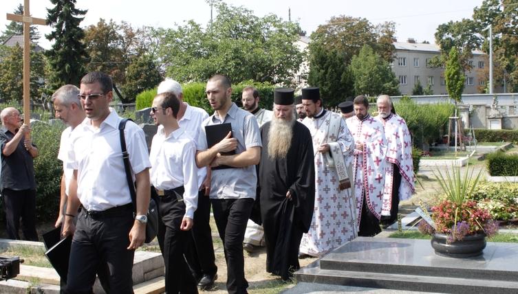 Сахрањен др Стеван Поповић, велики добротвор Цркве и члан Епархијског савета