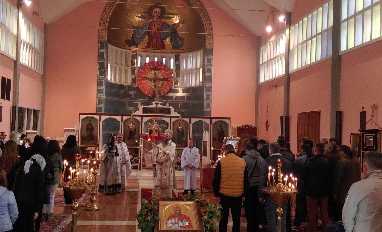 Слава парохије у Милану