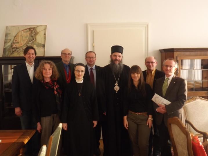 Епископ аустријско-швајцарски г. Андреј у посети Браунау