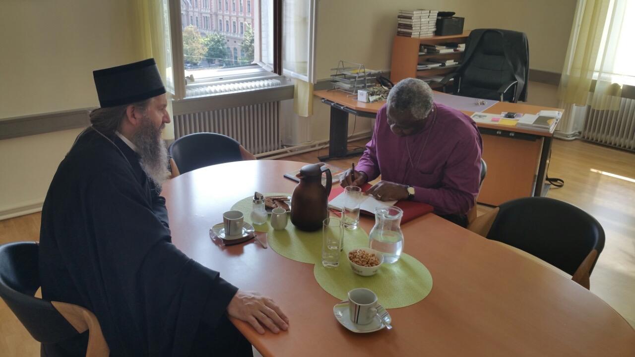 Владика Андреј посетио старокатоличког бискупа