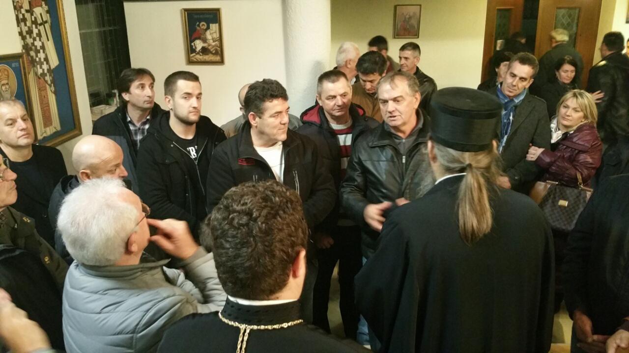 Епископ Андреј у канонској посети Санкт Пелтену