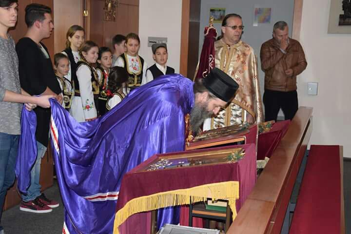 Епископ Андреј служио у Штадл-Паури – парохија гмунденска