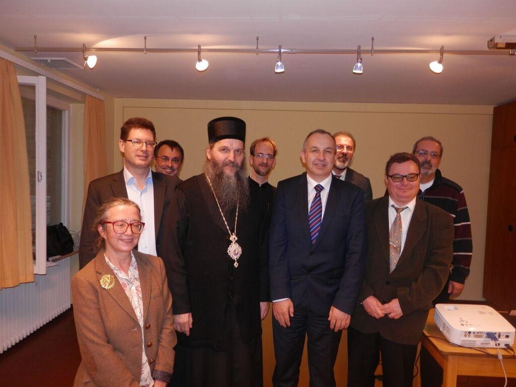 Епископ Андреј учествовао у раду Симпозијума у Вирцбургу