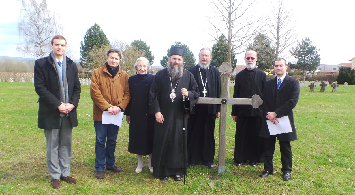 Владика Андреј посетио Линц и гробље Маутхаузен