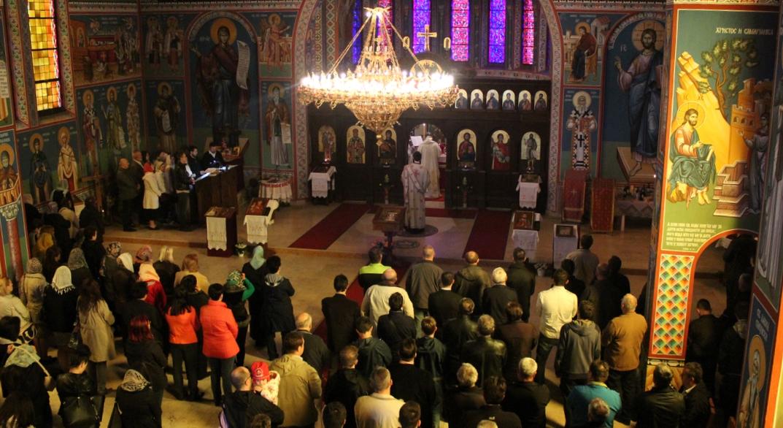 Света Архијерејска Литургија у Линцу