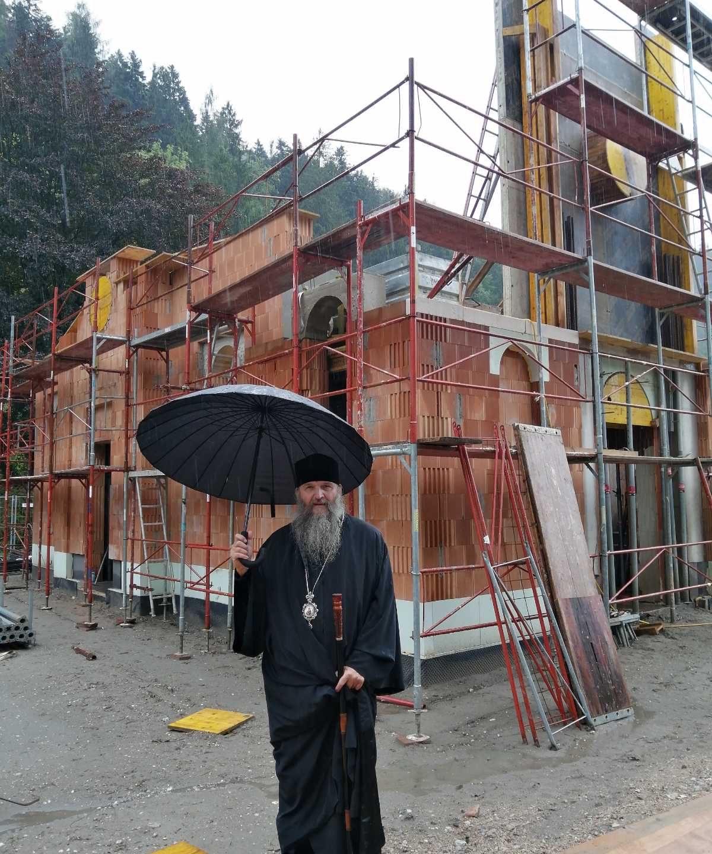 Напредује изградња храма Светог Висариона Исповедника