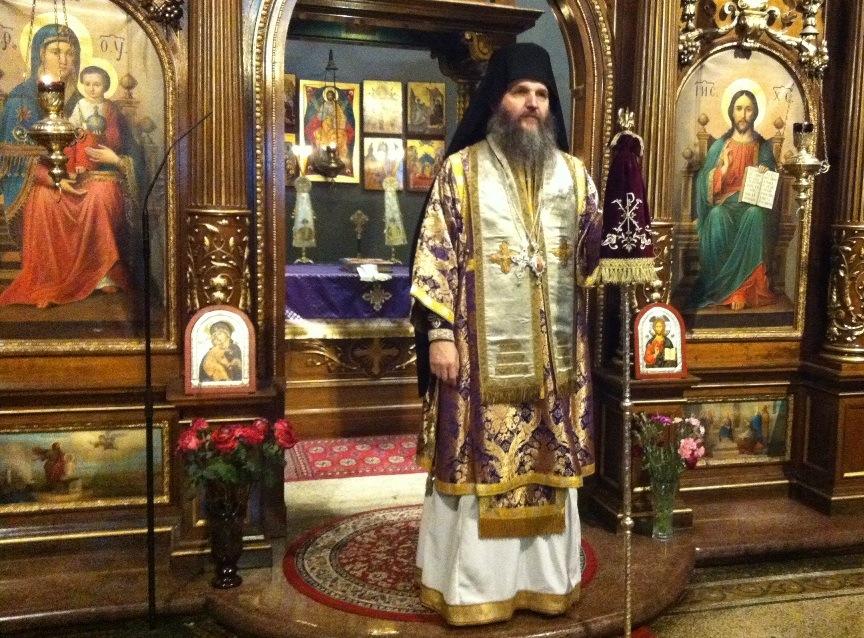 Прва Литургија пређеосвећених Дарова у Саборној цркви