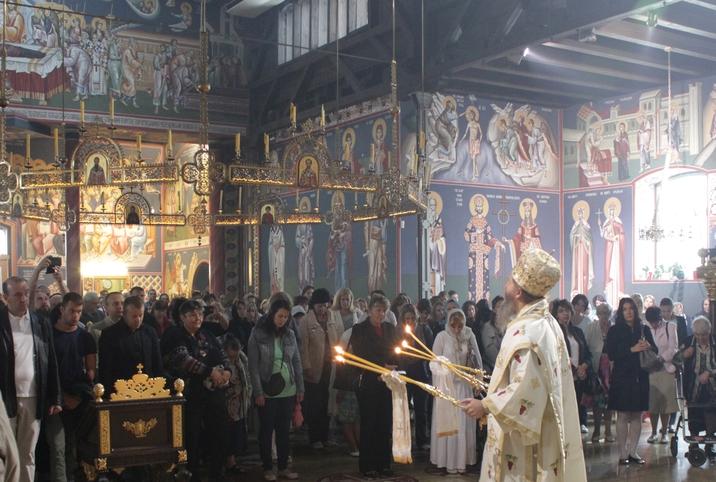 Недеља 12. по Духовима у храму Васкрсења
