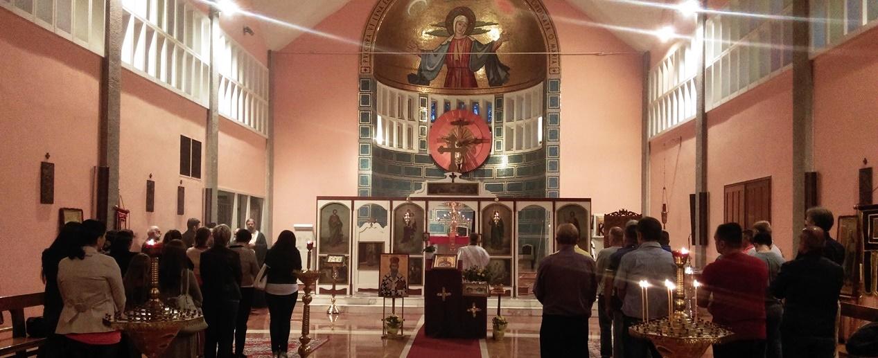 Посета Владике Андреја парохији у Милану