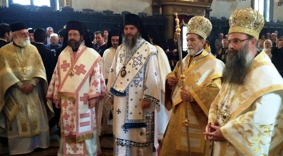 Свеправославна саборна служба у храму Светог Ђорђа у Венецији