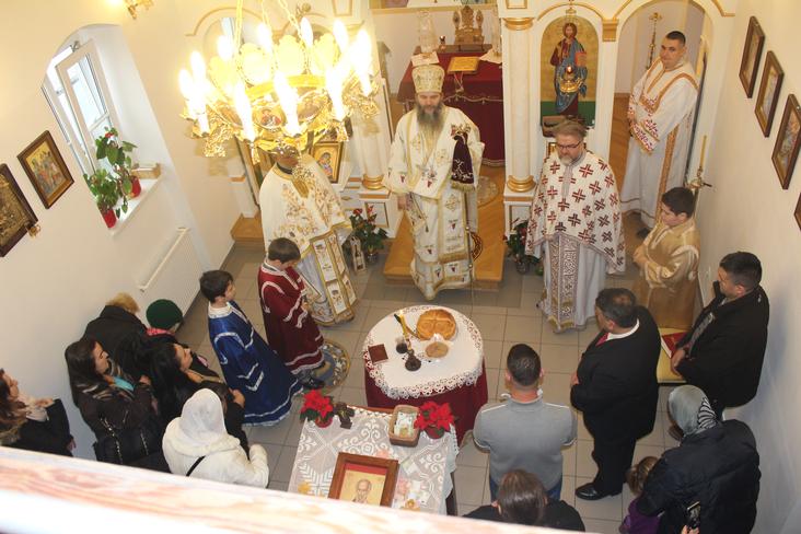 Епископ Андреј у Тулну