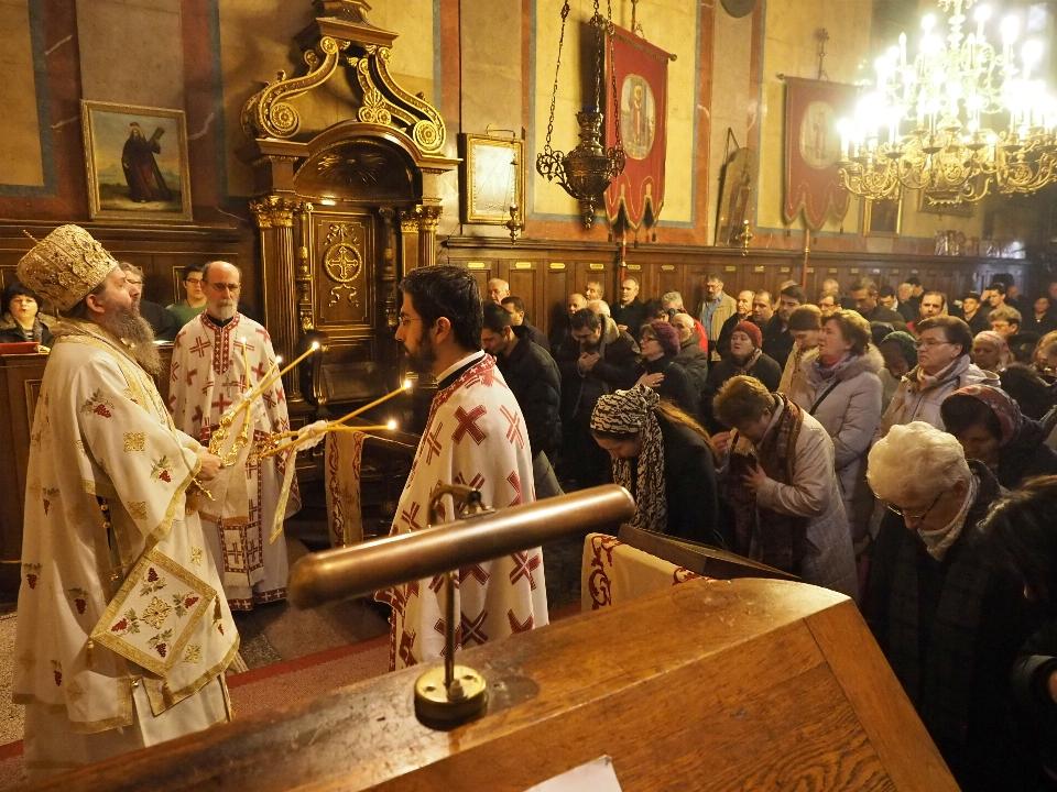 Свеноћно бденије и Архијерејска литургија у Саборној цркви