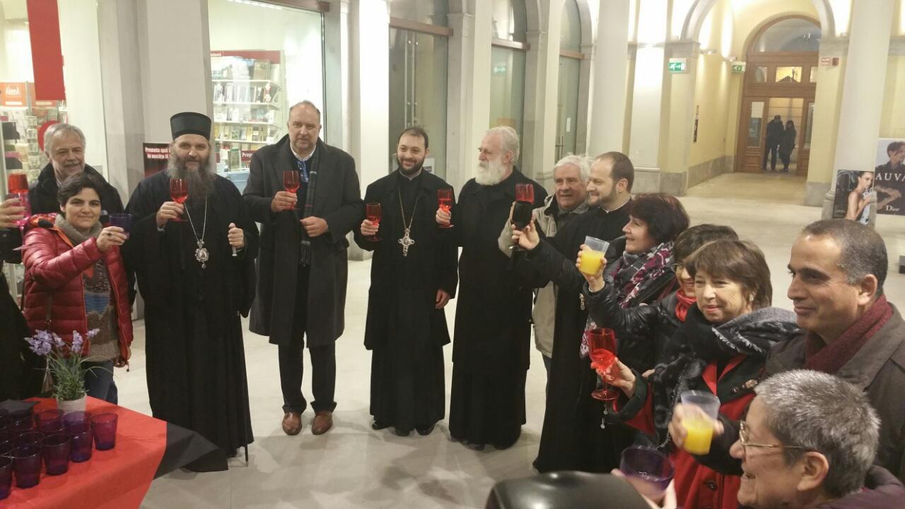 Епископ Андреј на мултиетничком сусрету у Трсту