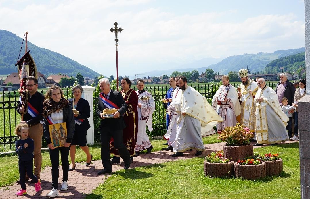 Свети равноапостолни просветитељи Кирило и Методије – слава цркве у Берну