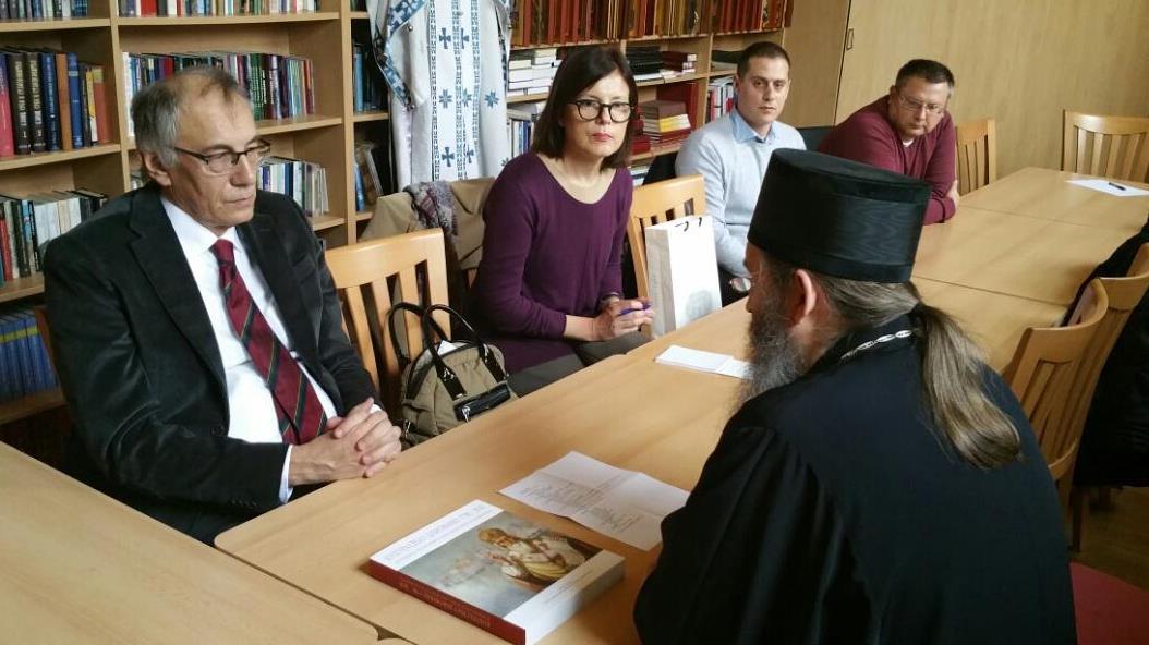 Епископ Андреј примио делегацију Архива Србије
