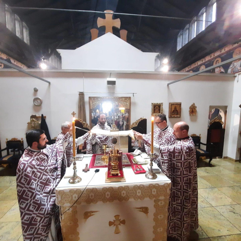 Петропавловдан у храму Васкрсења Христовог у Бечу