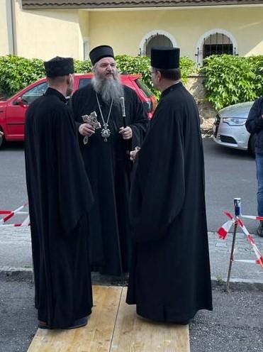 Архипастирска посета епископа Андреја Енсу
