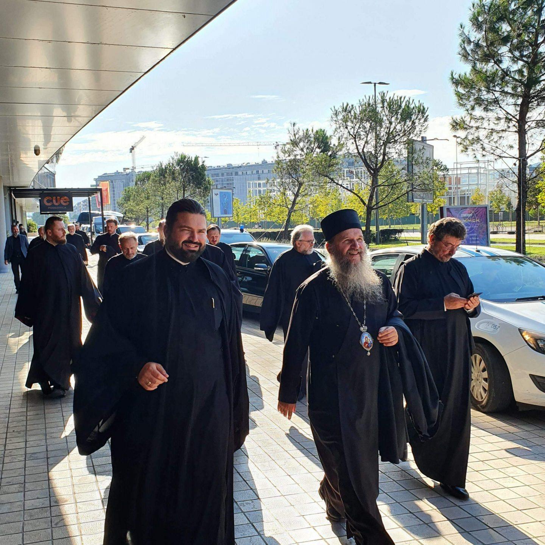 Delegation der Diözese Österreich-Schweiz bei der Inthronisierung des Metropoliten Joanikije – 1. Teil