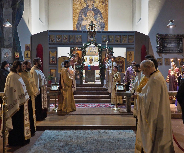 Свеправославно вечерње у Бечу