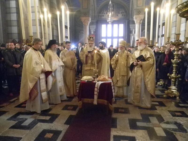 Празник светог Спиридона у Трсту